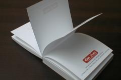 Дизайн и печат на фирмени рекламни хартиени кубчета с печат